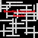 Genetics Crossword Puzzle with ANSWER KEY!