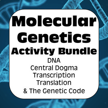 Central dogma teaching resources teachers pay teachers molecular genetics dna central dogma transcription translation high school fandeluxe Images