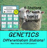 Genetics Differentiation Stations