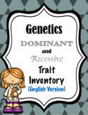 Genetics-Dominant and Recessive Trait Inventory (English Version)