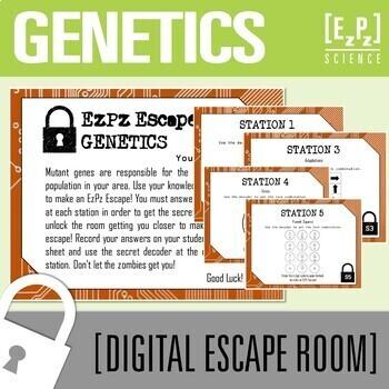 Genetics Science Escape Room