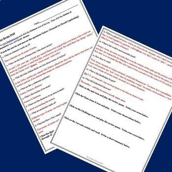 Genetics & Evolution Bundle! Activities using BrainPOP