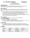 Genetics Game Puzzle with Worksheet