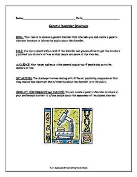 Genetics: Genetic Disorder Brochure Project