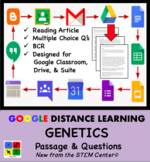 Genetics Google Doc Article & Questions Distance Learning Friendly