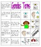 Genetics Matching Activity and Graphic Organizer