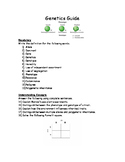 Genetics Guide Worksheet