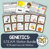 Genetics & Heredity Bundle - Science Centers / Lab Stations