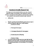 Genetics & Heredity Research Test