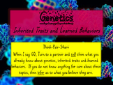 Genetics - Inherited Traits and Learned Behaviors