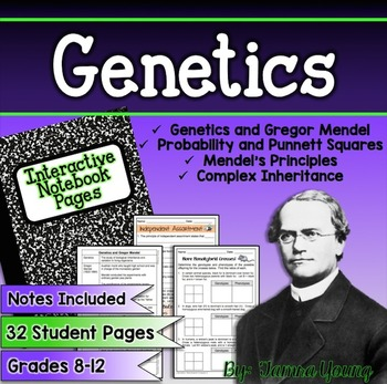 Genetics {Interactive Notebook Pages}