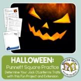 Punnett Squares - Fall Halloween Genetics - Distance Learning + Digital Lesson