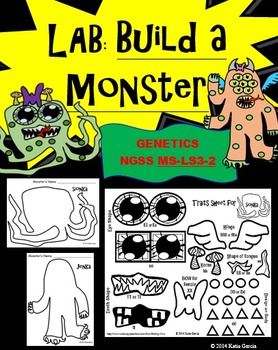 Genetics Lab - Build a Monster