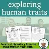Genetics- Human Traits Lab