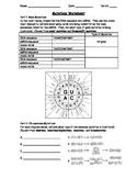 Genetic Mutations Worksheet Using a Codon Chart