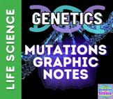 GENETICS: Mutations Graphic Notes!