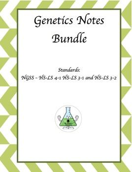 Genetics Notes Bundle