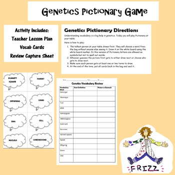 Genetics Pictionary Game