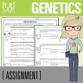 Genetics Punnett Squares Practice Problems