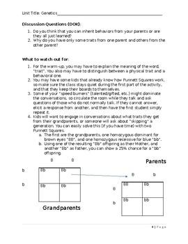 Genetics - Punnett Squares
