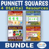 Digital Punnett Squares BUNDLE - Genetics   Distance Learning