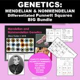 Genetics: Punnett Squares, Mendel, Non-Mendelian Heredity Differentiated Bundle