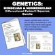 Genetics: Punnett Squares, Mendel, Non-Mendelian Student W