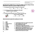 Genetics Quiz Worksheet