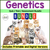 Genetics Quiz and Test Bundle