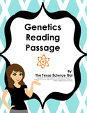 Genetics Reading Passage