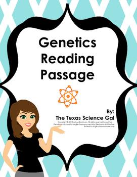 Genetics Reading Passage