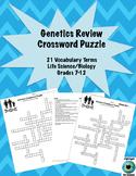 Genetics Review Crossword Puzzle