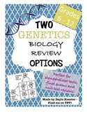 Biology EOC Review - GENETICS (Two review options)