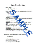 Genetics Review Study Guide