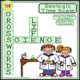 Geologic Time Scale Crossword Puzzle