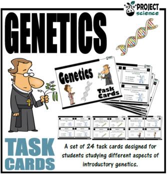 Genetics Task Cards