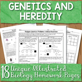 Genetics Unit Homework Pages