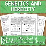 Genetics Unit Homework Worksheets