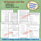 Genetics Unit Test for Biology/Life Science Grades 8-12