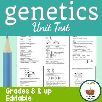Genetics Unit Test