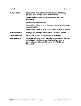 "Genetics Vocabulary Activity - ""The Ratchet Roundup"""