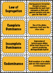 Genetics Vocabulary Card Sort