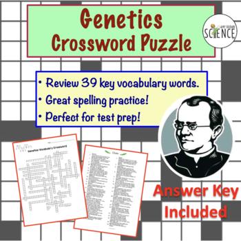 Genetics Crossword Puzzle