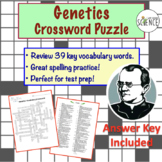 Genetics Crossword Puzzle