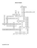 Genetics Vocabulary Crossword for Middle School Science
