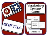 Genetics Vocabulary Domino Puzzle