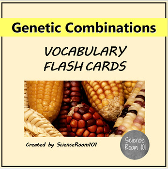 Genetics Vocabulary Flash Cards