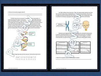 Genetics Vocabulary Practice