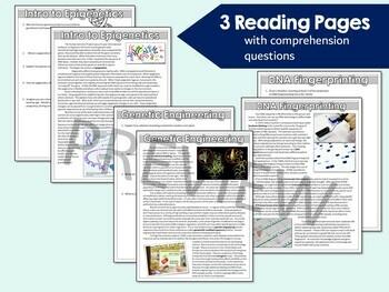 Genetics Webquest- DNA Fingerprinting, In Vitro Fertilization, and Cloning