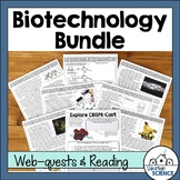Biotechnology and Genetic Engineering Worksheets & Webquests